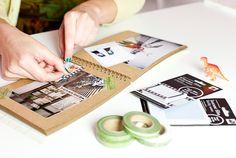 Shinjuku Photo Scrap-Kit - A collection of paper craft photo goodies from Japan. ($29.00, http://photojojo.com/store)