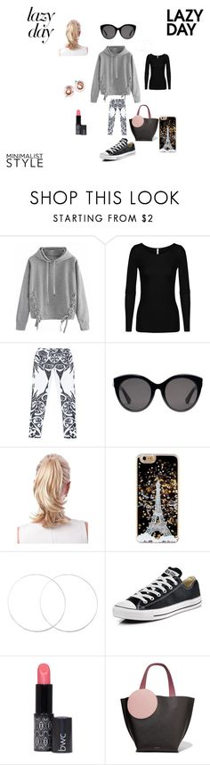 """""""When It Feels Like Friday, but it's NOT"""" by hanna-debruhl ❤ liked on Polyvore featuring WithChic, Gucci, Converse and Roksanda"""