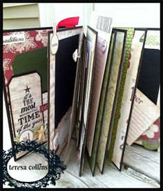 TERESA COLLINS DESIGN TEAM: Christmas Countdown Kit by:Stacy Rodriguez