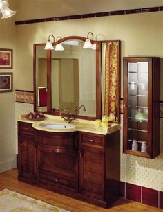 Antique bathroom vanity   - For more go to >>>> http://bathroom-a.com/bathroom/antique-bathroom-vanity-a/  - Antique bathroom vanity, Most present day homes are designed with modern architecture and modern bathrooms. Older residences have antique decorations all over the house and a modern bathroom would look inappropriate. A very attractive way to decorate an antique bathroom is to use an antique ...