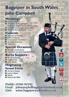 Hi Ho, Hi Ho it's Back to Work I Go.... :-) 🎼:-) www.bagpipersouthwales.co.uk Tel: 07985917590 Email: JohnCampbellBagpiper@hotmail.co.uk #SouthWales #Bagpipes #Cardiff #Pontyclun #MerthyrTydfil #Monmouthshire #ValeofGlamorgan #Chepstow #Caerleon #HayonWye #Torfaen #Gwent #Bristol #Cwmbran #Caerphilly #RossOnWye #Bridgend #Pontypool #Abergavenny #Abertillery #Swansea #Pontypridd #Brecon #Herefordshire #Blackwood #Gloucester #EbbwVale #Crickhowell #Cowbridge #Penarth