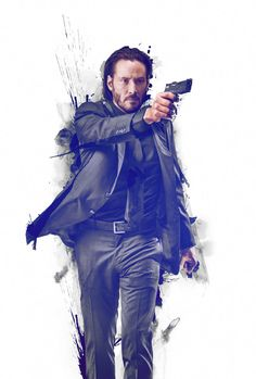 John Wick [Hi-Res Textless Poster] by ihaveanawesomename
