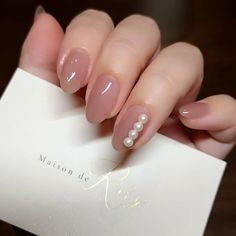 "maisonderiry on Instagram: ""* 三週間前のmynail..💅 . #tasaki のような#yokochan のようなパールがお気に入りでした💖 . 次は何にしようかな、、 というか誰かにやって欲しい、、 . #春ネイル2019#春ネイル#大人ニュアンス…"" Korean Nail Art, Korean Nails, Make Up Braut, My Life Style, Simple Flowers, Bridal Beauty, Cool Nail Art, Nail Arts, Nail Inspo"