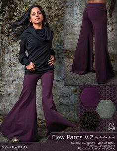 Flow Pants V.2 with Arabic Print [FLWPT2-AR] - $78.00 : Buddhaful, Unique and Unusual Clothing