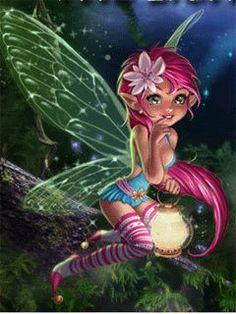 Sparkle Pink Haired Fairy photo nightfairy_t5uilioy.gifFairy Myth Mythical Mystical Legend Elf Fairy Fae Wings Fantasy Elves Faries