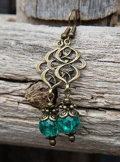 gabi111 / Smaragdové praskačky v bronze