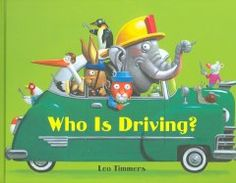 December 9, 2013. Easy-to-read text invites the reader to guess which animal is driving each of seven vehicles based on how they are dressed, then reveals their destinations and the vehicles' sounds.