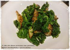 Me, you & pets too: Kale com Alcachofra de Jerusalém
