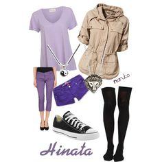 Hinata casual cosplay