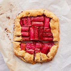 Thomasina Miers' recipe for rhubarb, star anise and hazelnut galette | Food | The Guardian Blue Cheese Salad, Rhubarb Recipes, Star Anise, What To Cook, The Guardian, Beautiful Cakes, Easy Desserts, Eat Cake, Baking Recipes