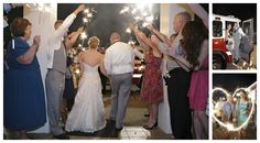 Sparkler and firetruck exit Firetruck, Sparklers, Diy Wedding, Future, Country, Future Tense, Rural Area, Party Sparklers, Fire Engine