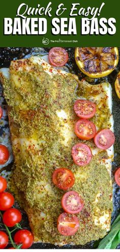 It takes only 7 ingredients and 20 minutes to make this perfectly ender, flaky, and flavorful baked Chilean sea bass recipe! Recipe comes with great tips and how-to video. Chilean Sea Bass Recipe Baked, Baked Sea Bass, Baked Fish, Tea Recipes, Fish Recipes, Seafood Recipes, Summer Recipes, Dinner Recipes