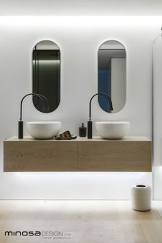 Bathroom ideas - Clean, simple designer style - Minosa Design | Design Library