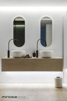 Bathroom ideas - Clean, simple designer style - Minosa Design | Design Library