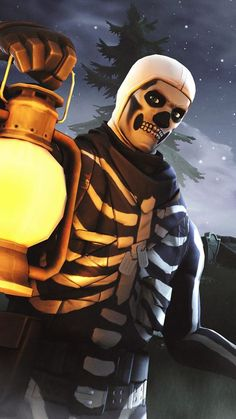 Skull Trooper Wallpaper HD #Fortnite #Wallpapers