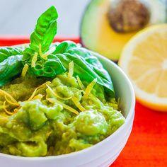 Lemon-Basil Guacamole