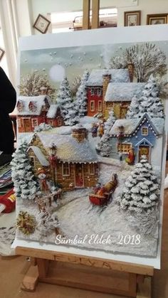 1 million+ Stunning Free Images to Use Anywhere 3d Art Painting, Stone Painting, House Painting, Clay Wall Art, Clay Art, Christmas Crafts, Christmas Decorations, Holiday Decor, Free To Use Images