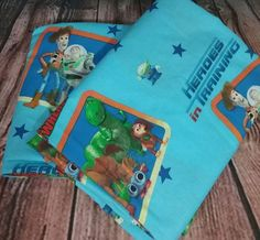 Toy Story curtain panels set of 2 heroes in training woody buzz lightyear boys #Disney #Novelty