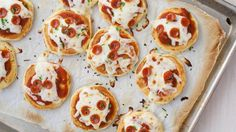 Blogger Cindy Ensley of Hungry Girl por Vida makes Mini Pizza Pancakes that look so much like the real thing your kids might not know they're pancakes!