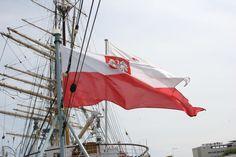 Gdynia - ORP Błyskawica, a tuż obok zwykle cumuje Zawisza. W tle Dar Młodzieży.