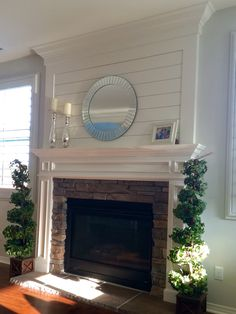 Shiplap Fireplace For The Home Pinterest Fireplaces