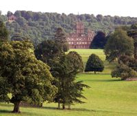 Highclere Castle in Hampshire, ENG (aka home to Downton Abbey)