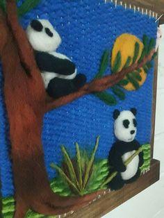 Loom Knitting, Knitting Patterns, Sewing Patterns, Felt Pictures, Thread Art, Loom Weaving, Felt Art, Animal Drawings, Basket Weaving
