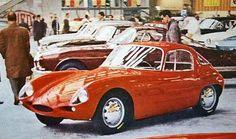 Alfa Romeo Abarth 1000Gt Competizione.