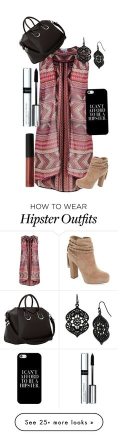 """#Outfits  Cute Hipster Outfits : """"Rayure"""" by loveenjoy on Polyvore featuring maurices, Jessica Simpson, CARGO, By..."""