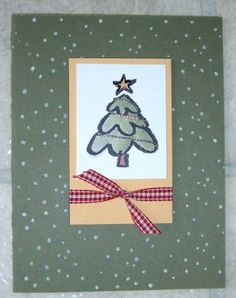 crayon christmas tree by caralina - Cards and Paper Crafts at Splitcoaststampers
