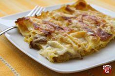 Lasagne con zucca e porcini