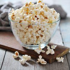 Zoute popcorn