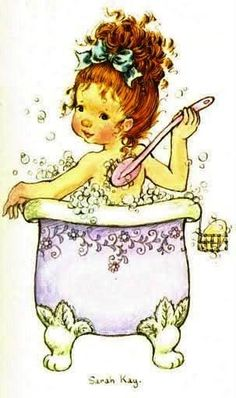 "Képtalálat a következőre: ""sarah kay"" Sarah Key, Holly Hobbie, Vintage Pictures, Cute Pictures, Heart Illustration, Illustrations, Vintage Children, Cute Drawings, Coloring Pages"