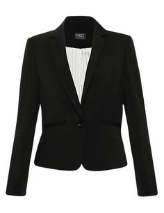 Notch Lapel 1 Button Seam Jacket | M&S