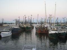 New Bedford Massachusetts--I remember it smelled like fish!