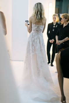 Reem Acra Bridal Fall 2016. / Wedding Style Inspiration / LANE