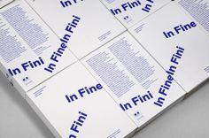 In Fine In Fini by Studio Plastac http://incredibletypes.com/in-fine-in-fini