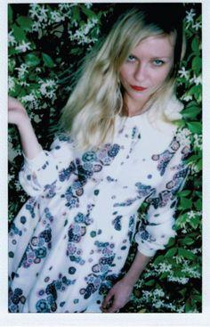 Kirsten Dunst in Wren X Leith Clark's FW`13 Lookbook