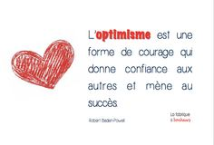 Défi n°1 - Optimisme   #optimisme #powerpatate Positive Attitude, Positive Vibes, French Quotes, French Sayings, Courage, Positivity, Search, Words, Optimism