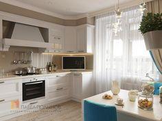 Fotos de cocinas de estilo clásico de Студия Павла Полынова | homify