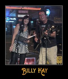 Billy Kay and Lori Brewer - The Sonny and Cher of Hohenwald - perform together in Tennessee  All My Best, Billy Kay