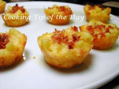 Cooking Tip of the Day: Recipe: Bacon Mac n Cheese Bites