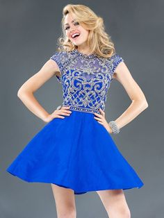 With Juniors for Dresses Formal Straps Blue Semi