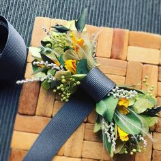 flower bow tie オリジナルオーダー Boutonnieres, Bow Tie Wedding, Woodland Wedding, Groom And Groomsmen, Flower Dresses, Buttonholes, Floral Tie, Floral Arrangements, Wedding Decorations