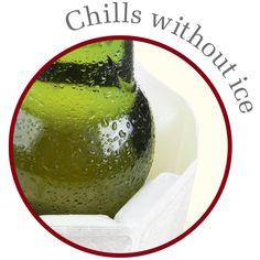 Vacu Vin Rapid Ice Wine Cooler  Platinum *** Click image for more details. (This is an affiliate link) Wine Chillers, Champagne Buckets, Bottle Bag, Bottle Holders, Drink Bottles, Liquor, Chilling, Sleeve, Wine