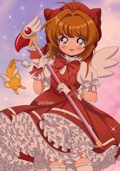 Cardcaptor Sakura 90's Style Fanart by ICIAAAA on DeviantArt