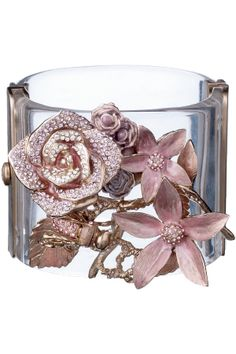 Chanel Flower Cuff—this should be mine.