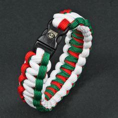 Hungarian tricolor paracord bracelet