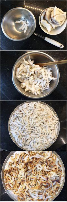 Na Cozinha – Chips de Coco Doce e Delícia