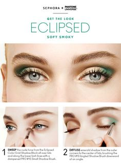 Tutorial: Eclipsed Soft Smokey Eye - Click the image for the tutorial!